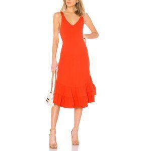 Free People Red Into U Casual Maxi Dress